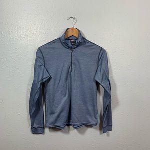 Patagonia Capilene 1/4 Zip Long Sleeve Top Size S